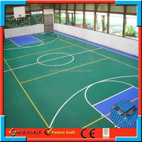 plastic basketball court manufacturer