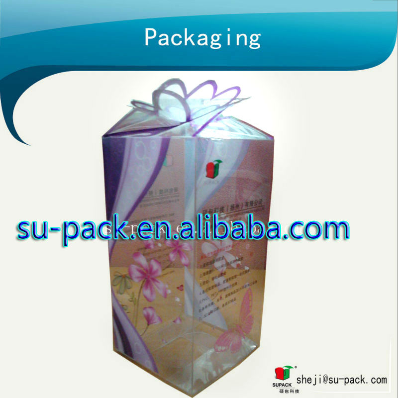 Delicate gift packaging box