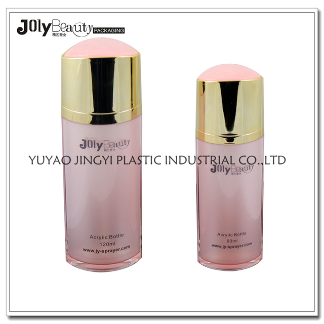 Charming in spray pink lotion bottle cosmetic empty packaging