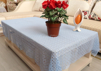chemical lace sequin table cloth silver overlay for wedding party