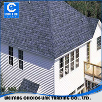 5-Tab mineral surface roofing shingles used cheap asphalt shingles