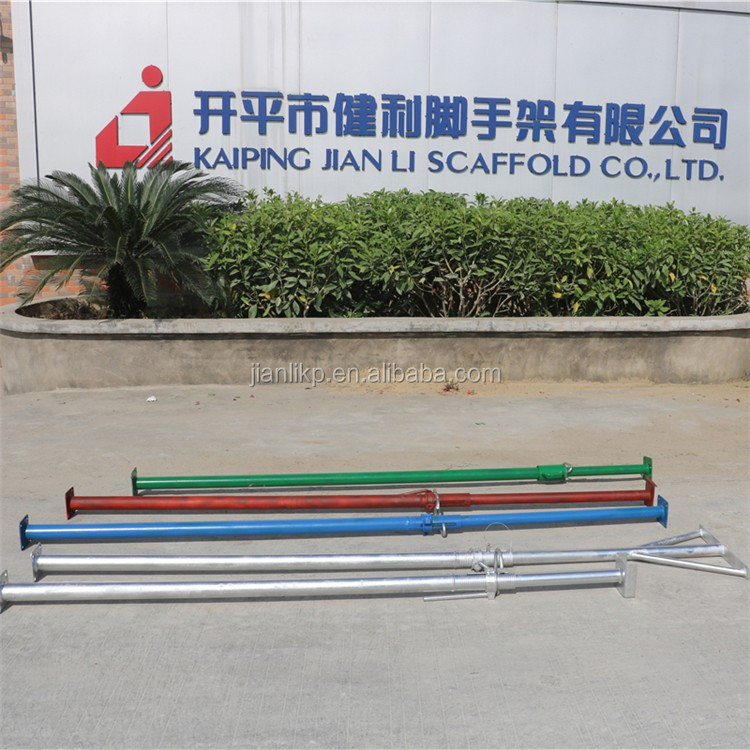 Scaffolding Adjustable Steel Slab Shoring Props For Sale