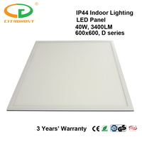 Trade Insurance Supported 595*595 Indoor LED Panel 600*600 40W From Factory In Shenzhen