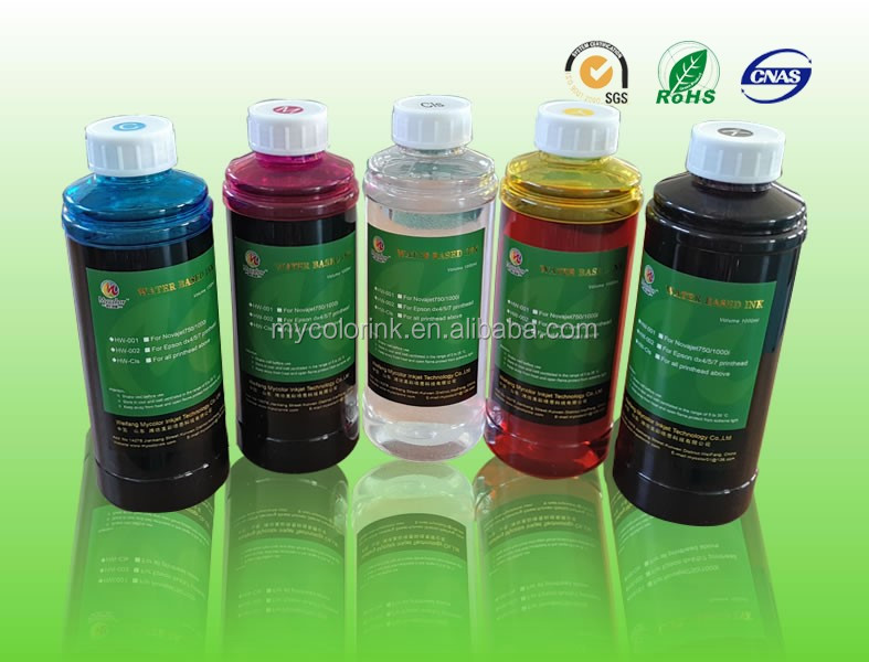 1L Package CMYK roland aj-1000 ink