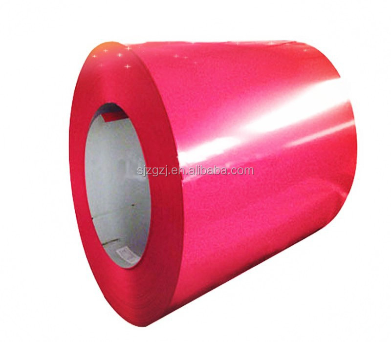 PPGI Coils, Color Coated Steel Coil, RAL9002 White Prepainted Galvanized Steel Coil Z275