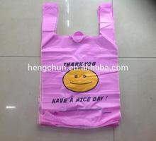 PE customized plastic shopping bag(2012)