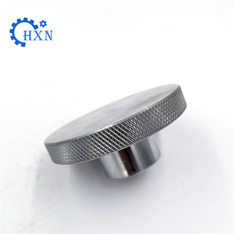 Custom cnc machining made stainless steel/carbon steel/ alloy steel knurled flange