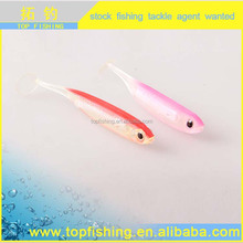 Hot sale high quality fishing lure soft vibe bait