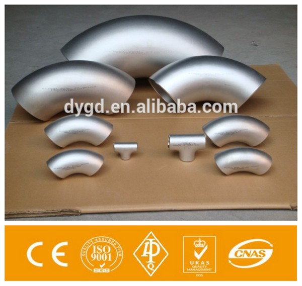 Alibaba 90 180 Degree 316 316L Stainless Steel Elbow