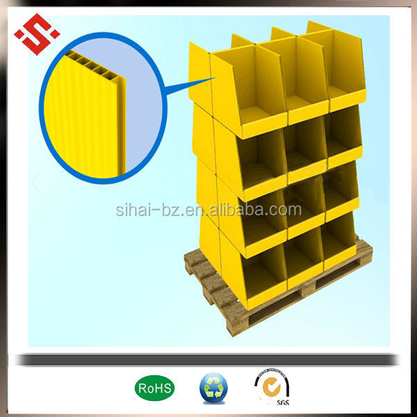 pp polypropylene plastic display price card holder plastic display shelves plastic display boxes