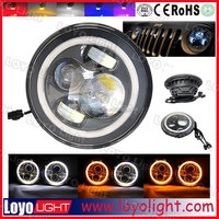Top Sale 7 Inch Warterproof 3600 LM Super Bright motorcycle led headlight