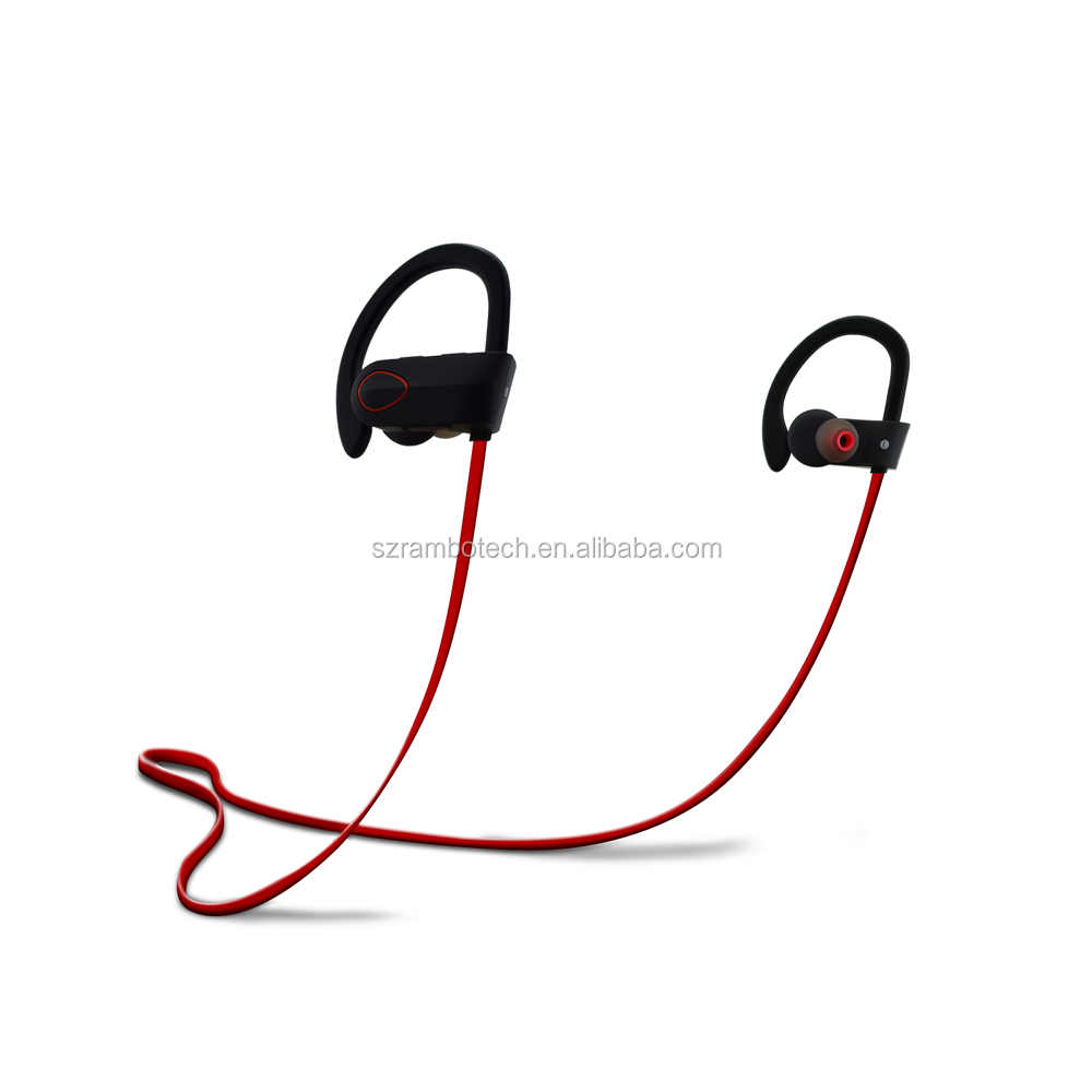 Rechargeable wireless earphones bluetooth 4.1 headphones in-ear stereo headset with mic