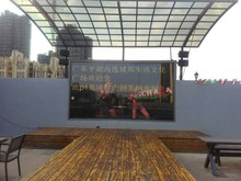 Led screen advertising video panel 4mm p4 aluminum digital billboards for sale