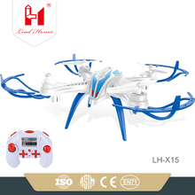 LH-X15 wholesale and high quality rc quacopter 2.4G 6axis 4ch ufo rc quadcopter drone rtf