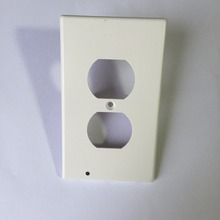 As seen on TV Duplex Night Angels Lighted Wall-outlet Coverplate with LEd Lights