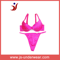 2014 Hot selling sexy young girls bra underwear, Sexy g-string panty girls underwear, Accept OEM