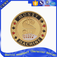 Cheap custom play metal game coins with cheap factory price