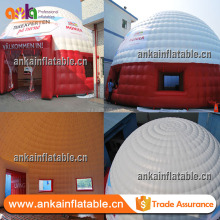 Customized inflatable tent type large inflatable air dome tent inflatable