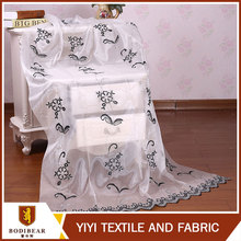 China Curtain Manufacturer design Embroidery fabric turkey design