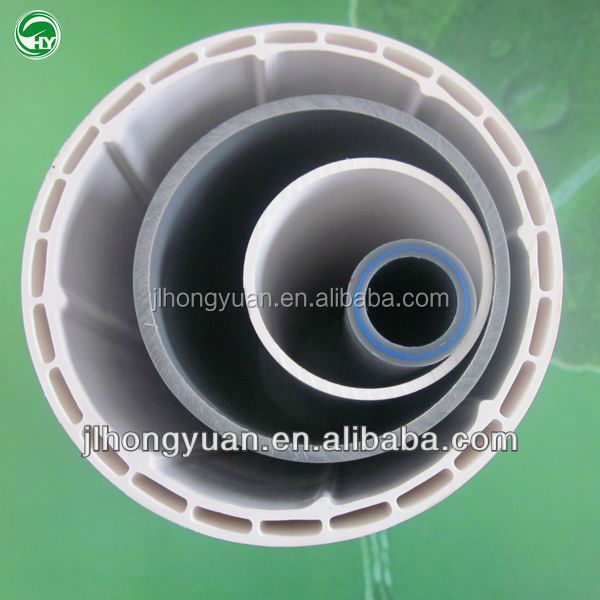 Plastic PVC pipe size manufacturer for large diameter PVC pipe and fittings prices cheap