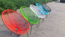 Outdoor aluminum frame resin wicker furniture chair