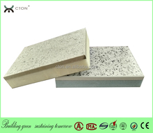 Green building materials with insulation and decoration panel for outside wall