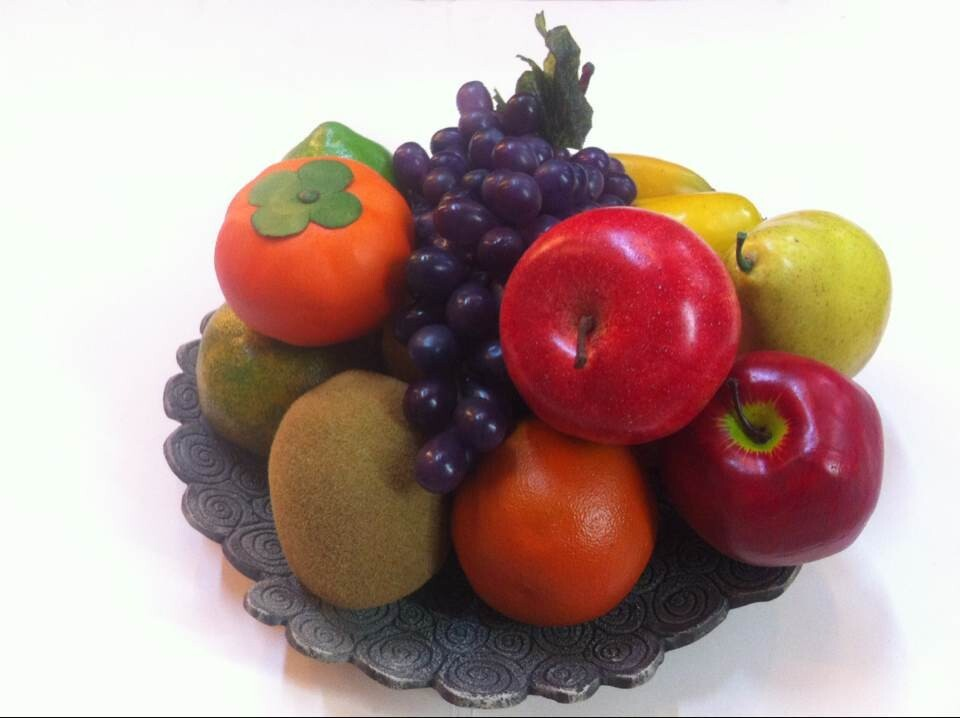 High imitation artificial fruits and vegetable decor buy for Artificial fruit for decoration