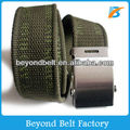 Military Webbing Cotton Belt with Customized Weaving Logo for Jeans
