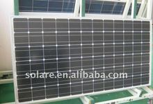 monocrystalline PV solar panel 180Wp (36V) withTUV/CE
