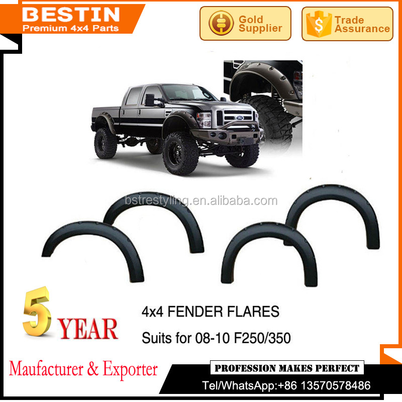 Brand new high quality black fender flares for 08-10 F250/350