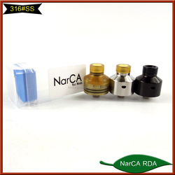 Black silver color Narda,1:1clone rda, Chinese import RDA/large for wholesale