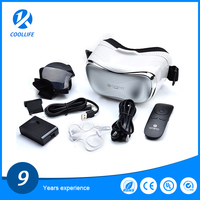 2016 new design vr Virtual Reality 3d Glasses Vr Box Video Glasses 3d