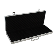 Durable Custom Casino Poker Chip Set Hard Aluminum Tool Case