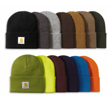 Wholesale Embroidery Logo 100 Acrylic Promotional Custom Knitted Men Winter Beanie Hat