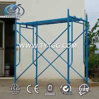scaffolding frame ,joint pin cross brace ladder frame system scaffodling/construction material