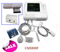 Half price Promotion! Maternal/Fetal Monitor-----CMS-800F fetal monitor,FHR+TOCO+ECG+NIBP+SPO2+pulse rate,fetal movement