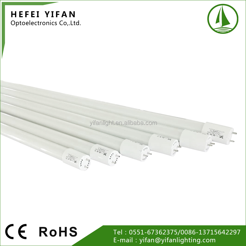 LED T8 Lamp Manufacturers 9-24W 0.6-1.5m