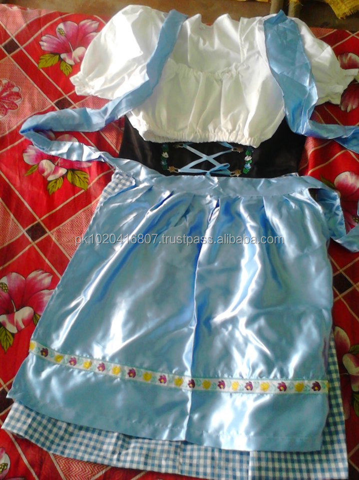 GERMAN BLUE HIGH QUALITY DIRNDL DRESS / DIRNDL HOUSE