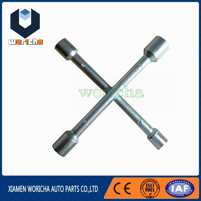 7 Inches 4 Way Cross Wrench Tyre Wrench Auto Repair Tools