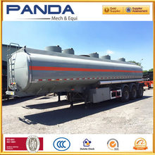 (dual layer or single layer optional) 3 axles chemical liquid transport tanker truck semi trailer for sale