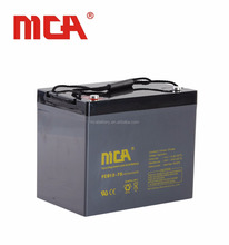 Sealed Lead Acid Deep Cycle Battery 12V 75Ah Sealed Lead Acid Battery