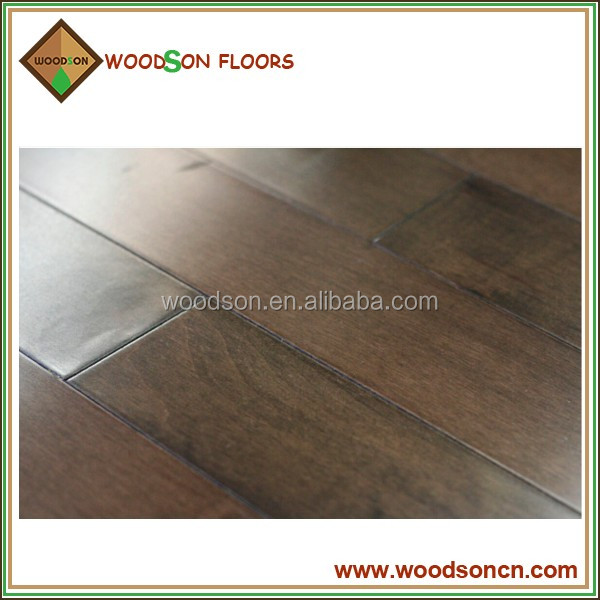 14/3mm UV Lacquered China Maple Engineered Hardwood Flooirng