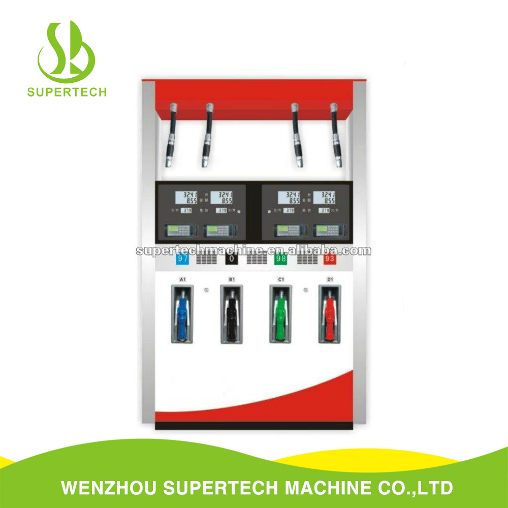 Flow rate 80L/min gasoline diesel oil kerosene fuel dispenser machine used controller