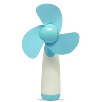 Amazon hot selling plastic portable pocket handheld battery operated battery powered fan for kids