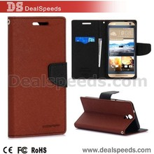 Mercury Goospery Fancy Diary Series Leather Case for HTC One E9+ (E9 Plus A55) Coffee
