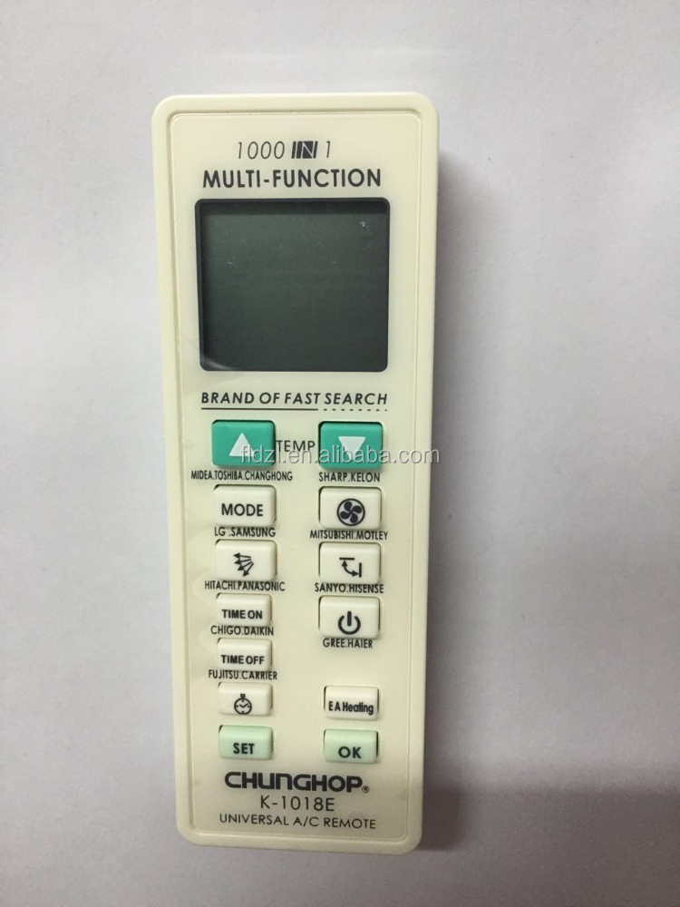 UNIVERSAL REMOTE CONTROL air condition K1018