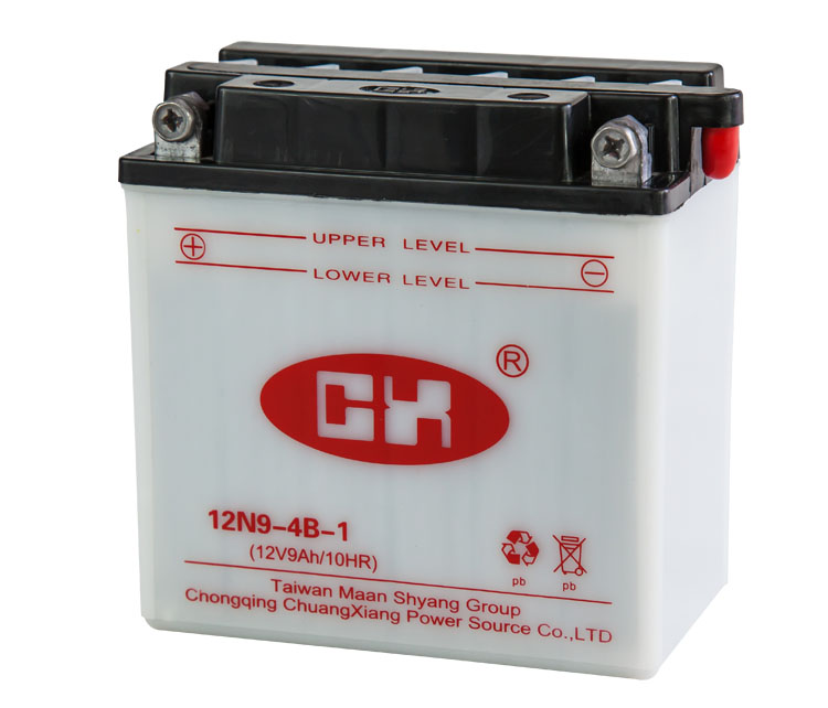 12v 9ah rechargeable battery bateria from chongqing motorcycle spare parts