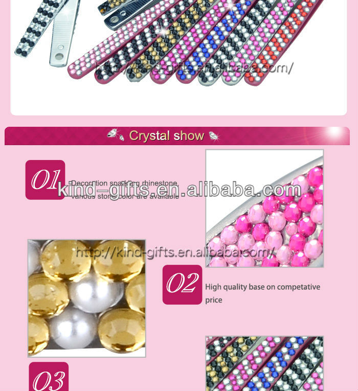 Luxurious Rhinestone Diamond Crystal Shaping Eyebrows With Tweezers Supplier|Factory|Manufacturer