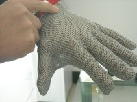 stainless steel cut resistance mesh gloves