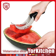 New sales kitchen gadgets stainless steel watermelon slicer and corer Amazon